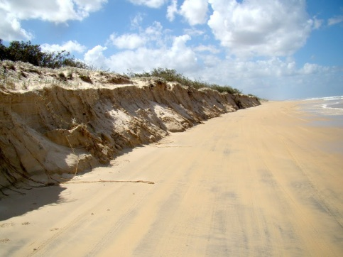 Our Tuesday outing was to Wabby Lakes. The extent of beach erosion is illustrated
