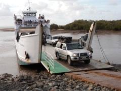 Our journey to Fraser Island took us via Mary River Heads to Wangoolba Creek