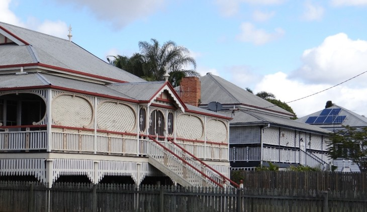 Maryborough's heritage houses have strong public appeal